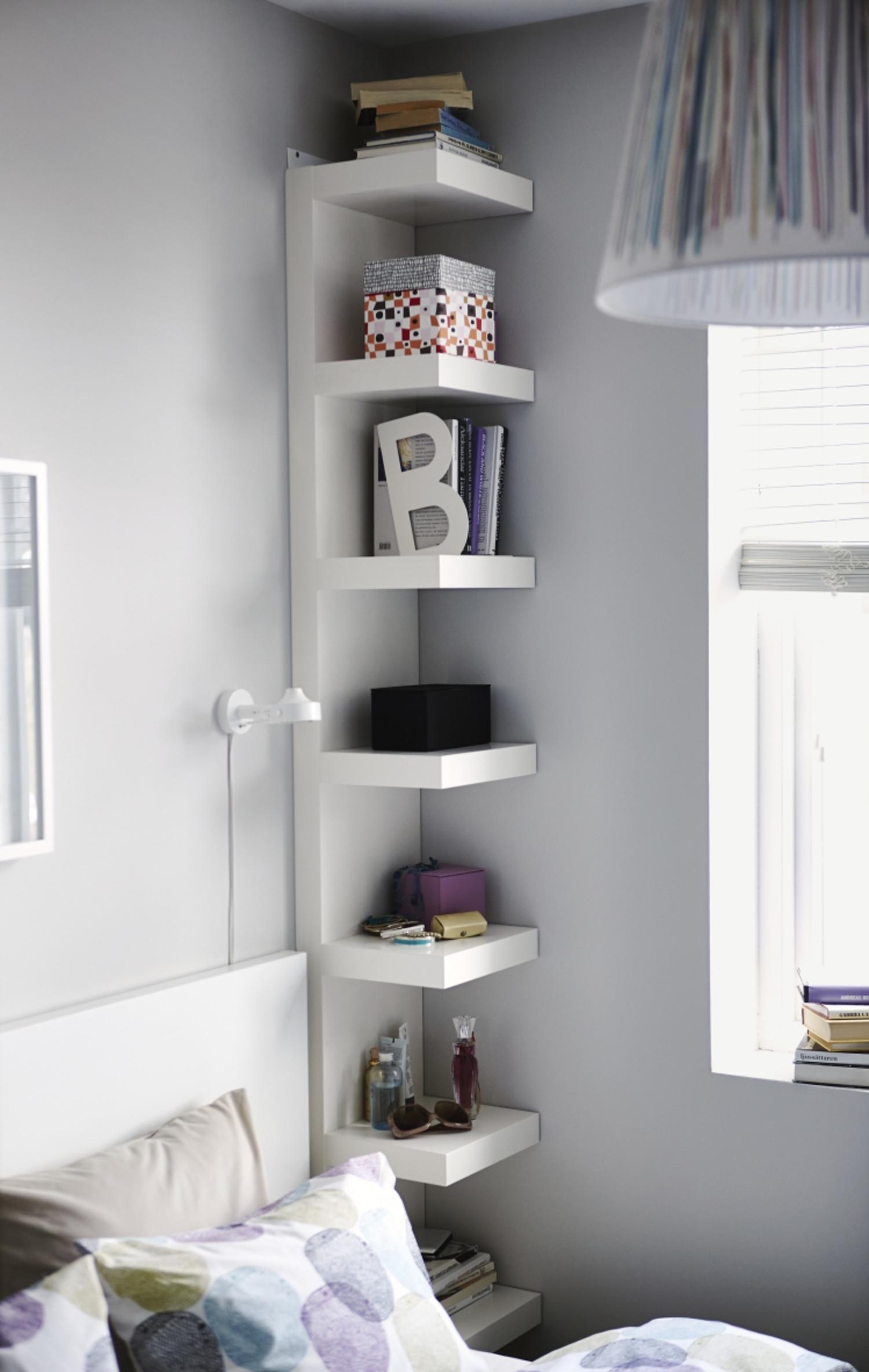 Small Shelves for Bedroom Inspirational E Shelf 5 Ways the Endlessly Versatile Lack Wall Shelf