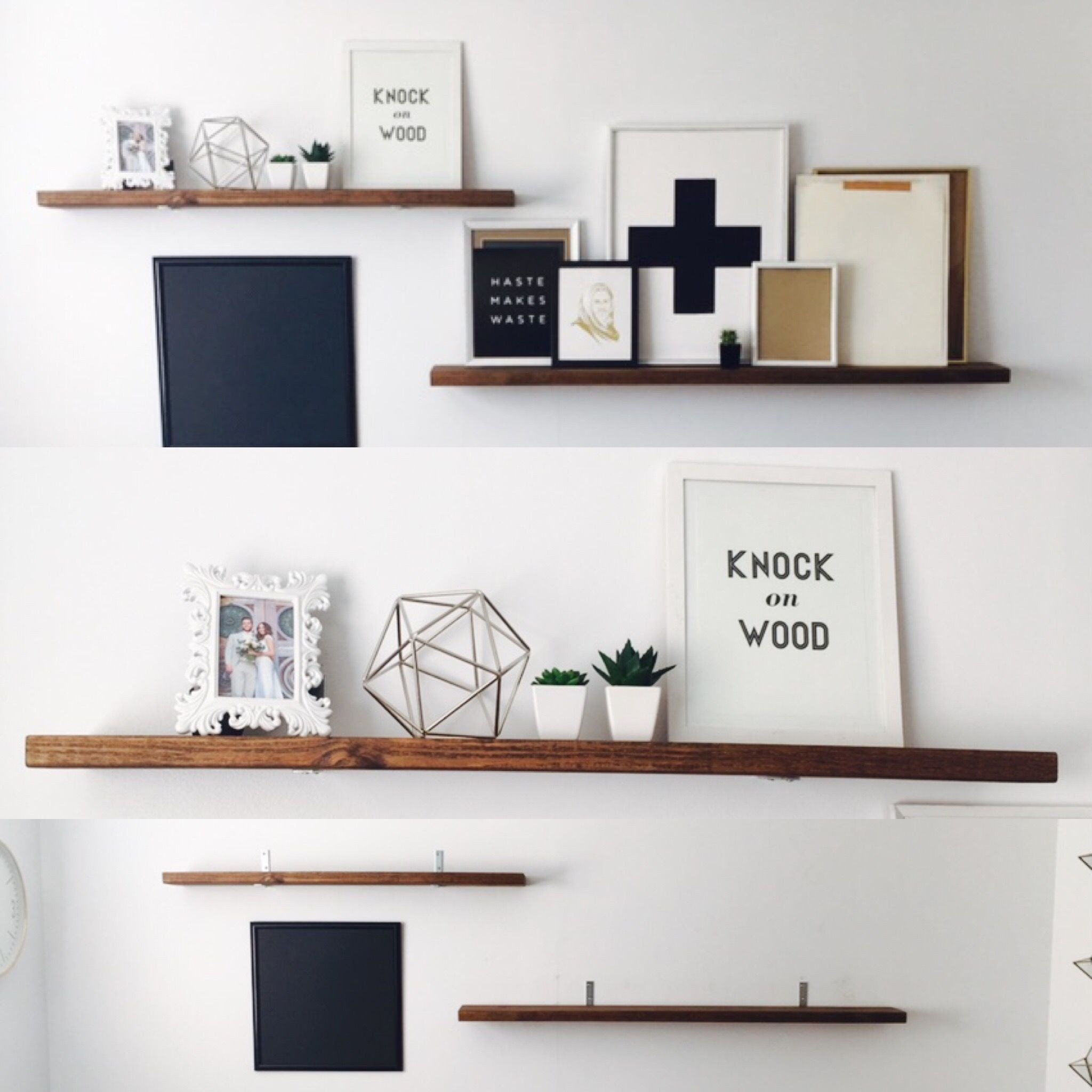 Small Shelves for Bedroom Luxury Diy Faux Floating Shelves Under $40
