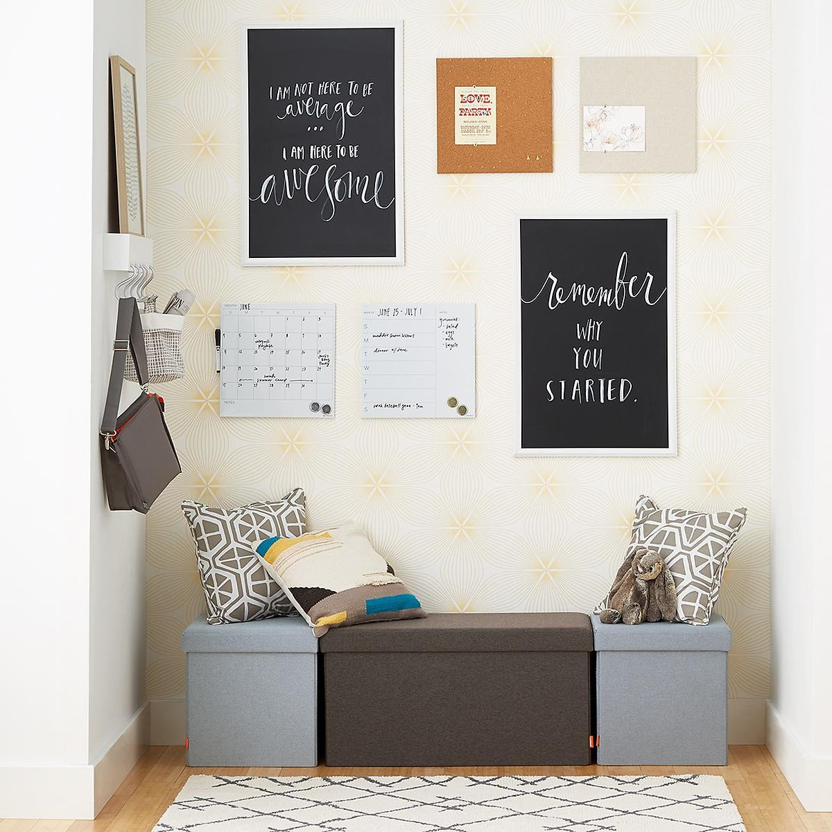 Small Storage Bench for Bedroom Best Of Poppin Charcoal Box Bench