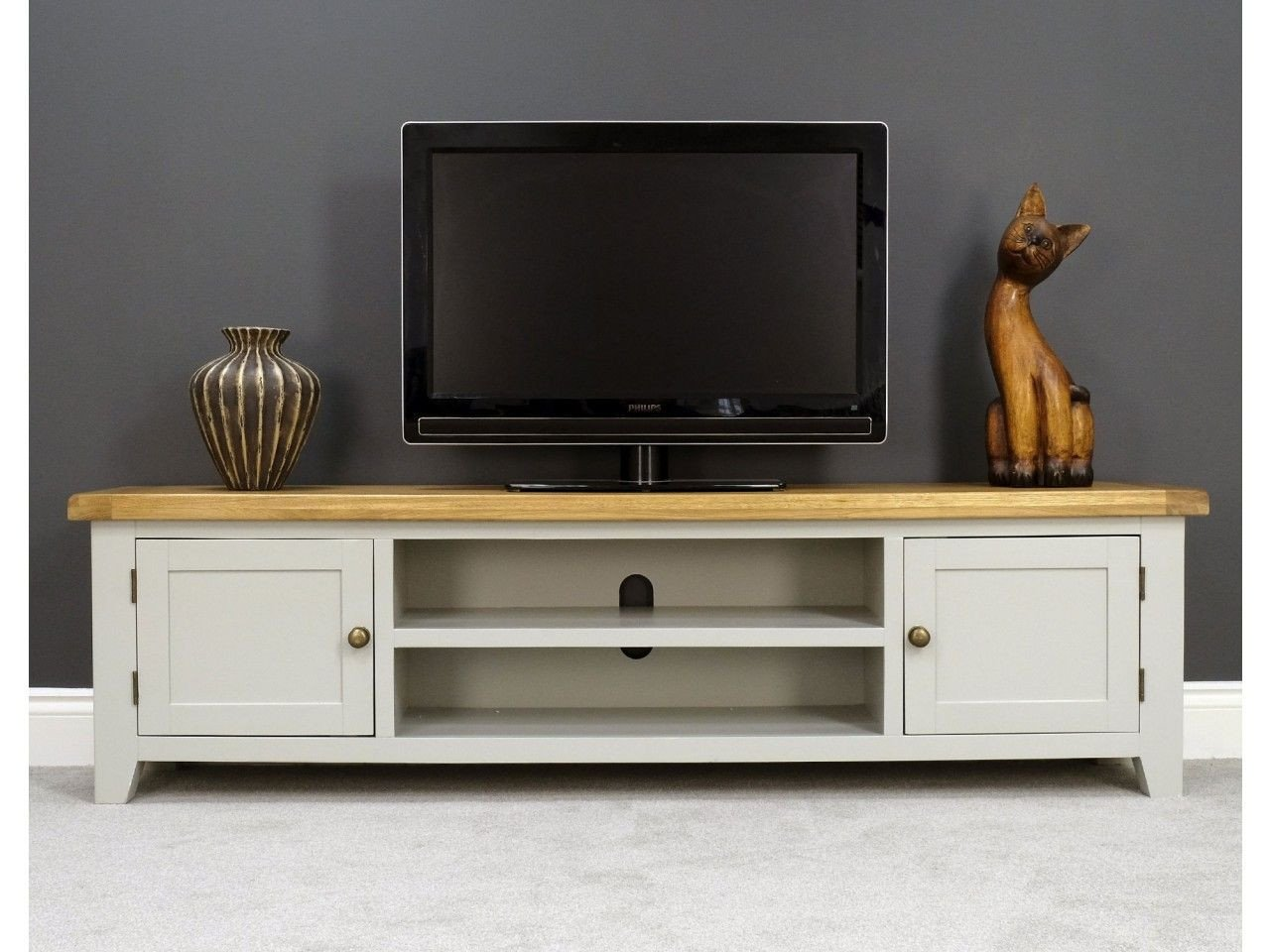 Small Tv Stand for Bedroom Best Of Arklow Painted 180cm Extra Tv Unit for Screens Up to