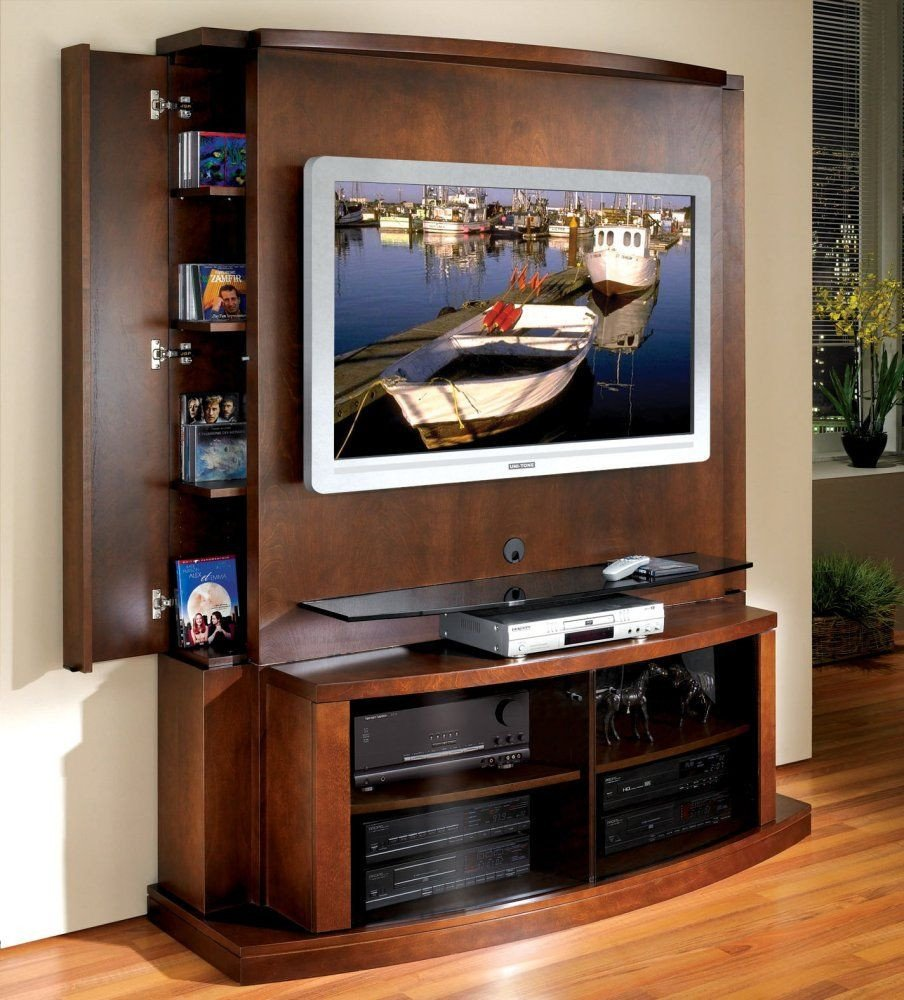 Small Tv Stand for Bedroom Elegant Flat Panel Flat Screen Tv Stand with Back Panel Tango