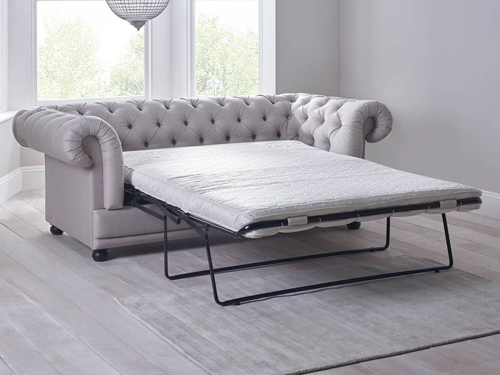 Sofa Bed for Bedroom Fresh Cara Double sofa Bed In Grey A Chesterfield by Day and