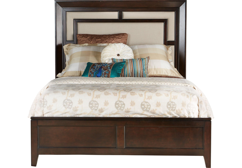 Sofia Vergara Bedroom Set Luxury sofia Vergara Santa Clarita Dark Cherry 5 Pc Queen Bedroom