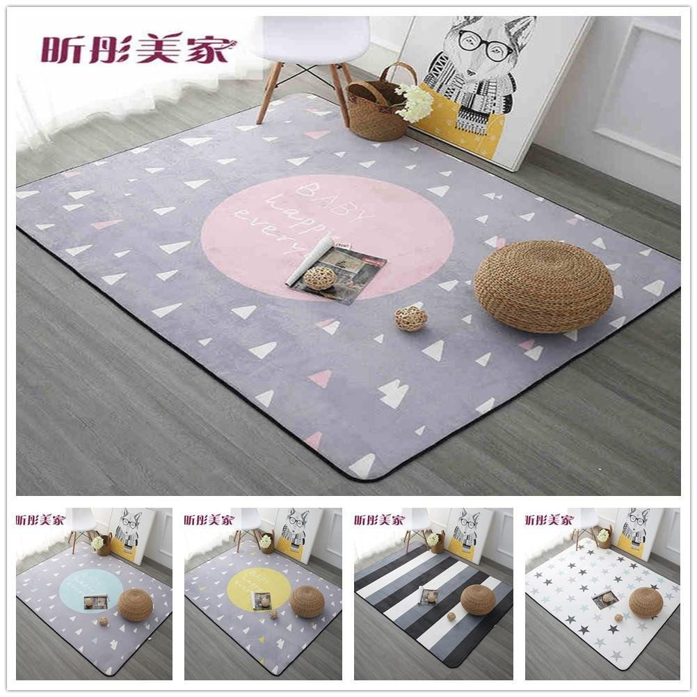 Soft Rugs for Bedroom New Dreaming Carpet for Sale 120x180cm Thicken soft Kids Room Play Mat Modern Bedroom area Rugs Pink Carpets for Living Room Discount area Rug