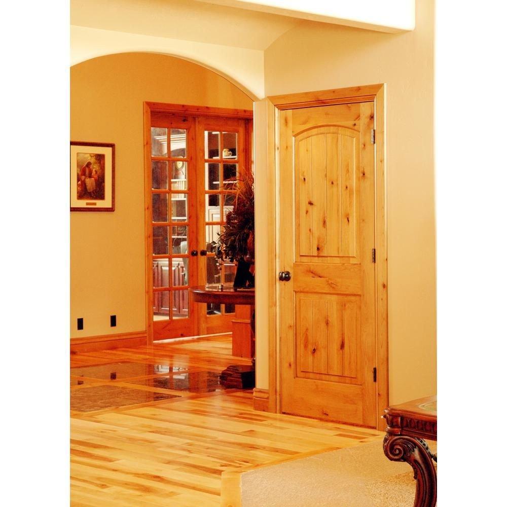 Solid Wood Bedroom Doors Luxury Krosswood Doors 32 In X 96 In Knotty Alder 2 Panel top