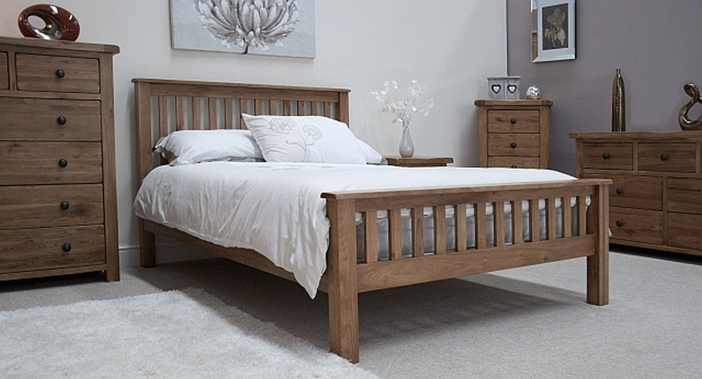 Solid Wood Bedroom Set Beautiful Bedroom Design Tilson solid Rustic Oak Bedroom Furniture