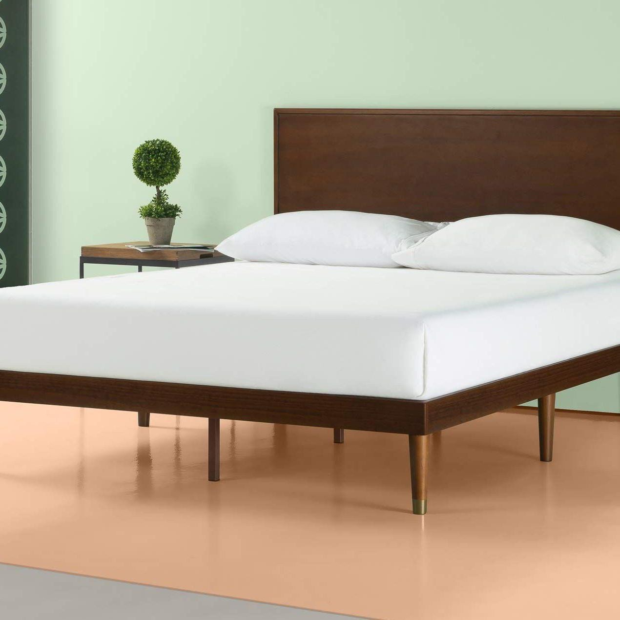 Solid Wood Bedroom Set Unique Get A West Elm Look for Under $300 with This Mid Century Bed