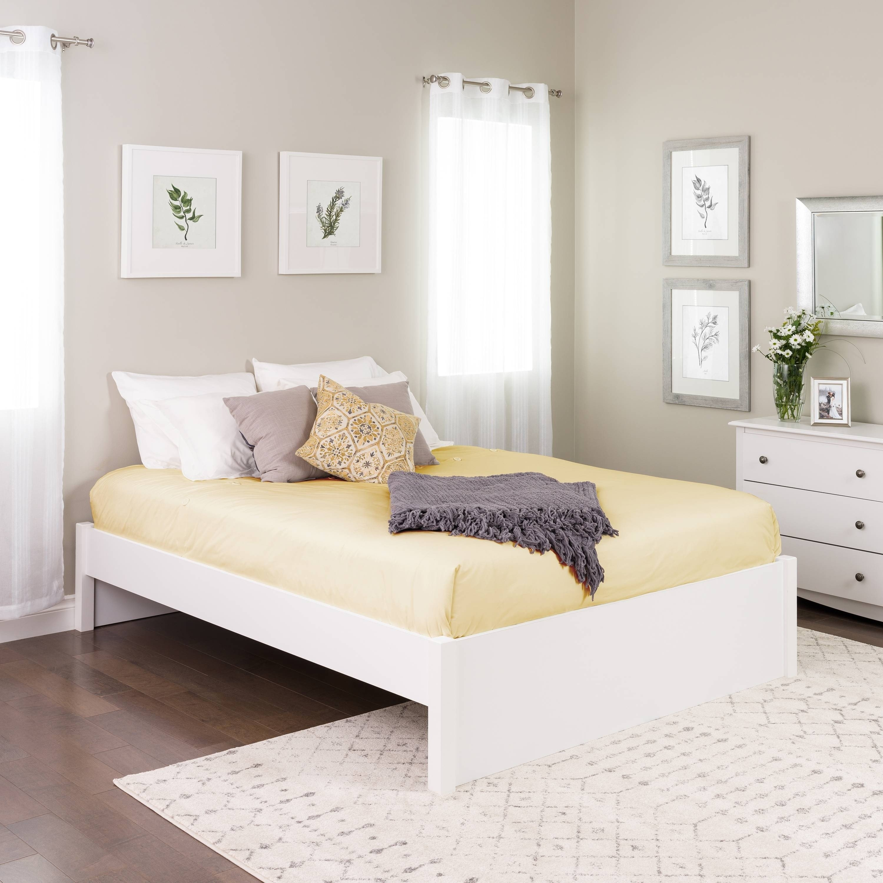 South Shore Bedroom Set Inspirational Prepac Queen Select 4 Post Platform Bed with Optional Drawers