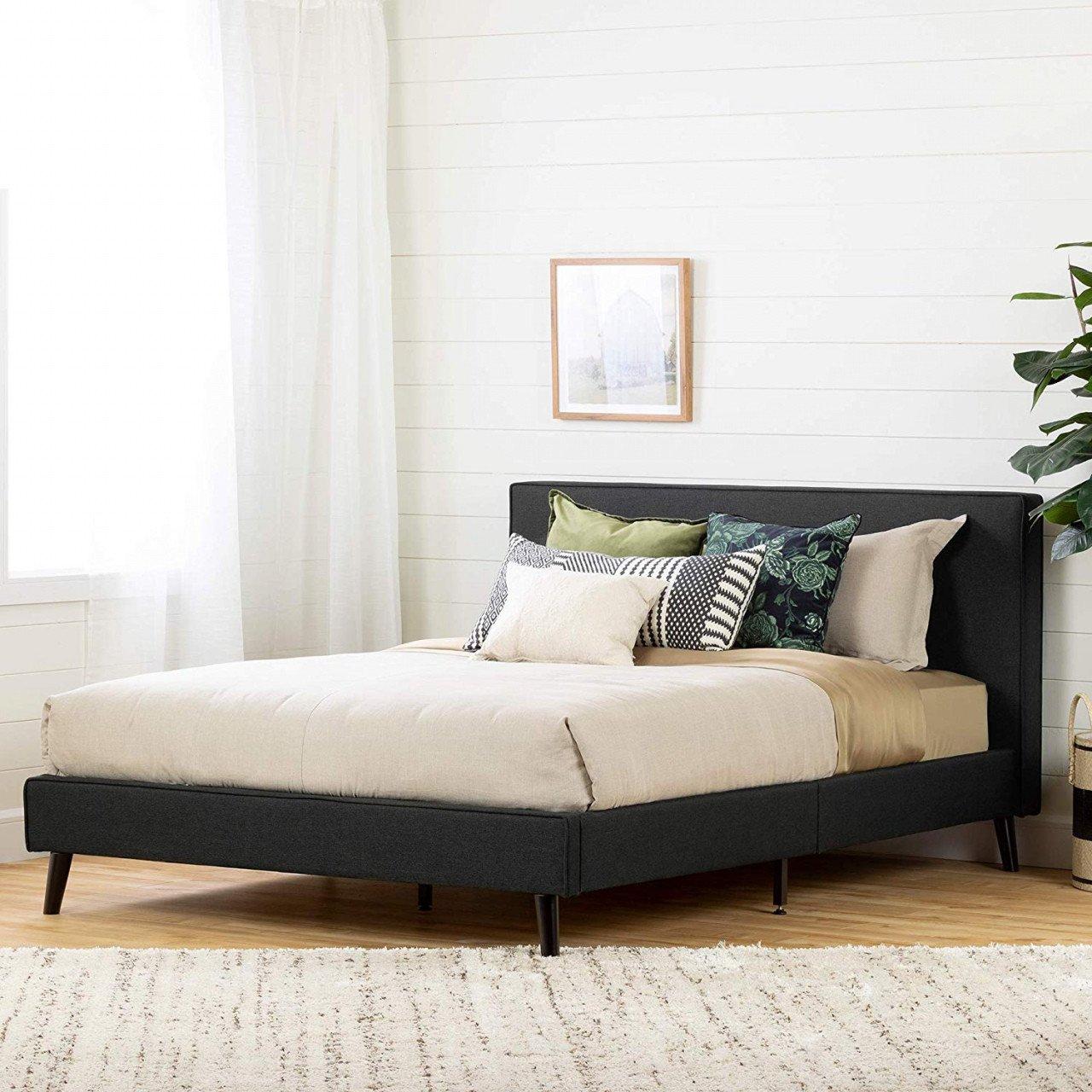 South Shore Bedroom Set New Platform Bed with Built In Nightstands — Procura Home Blog