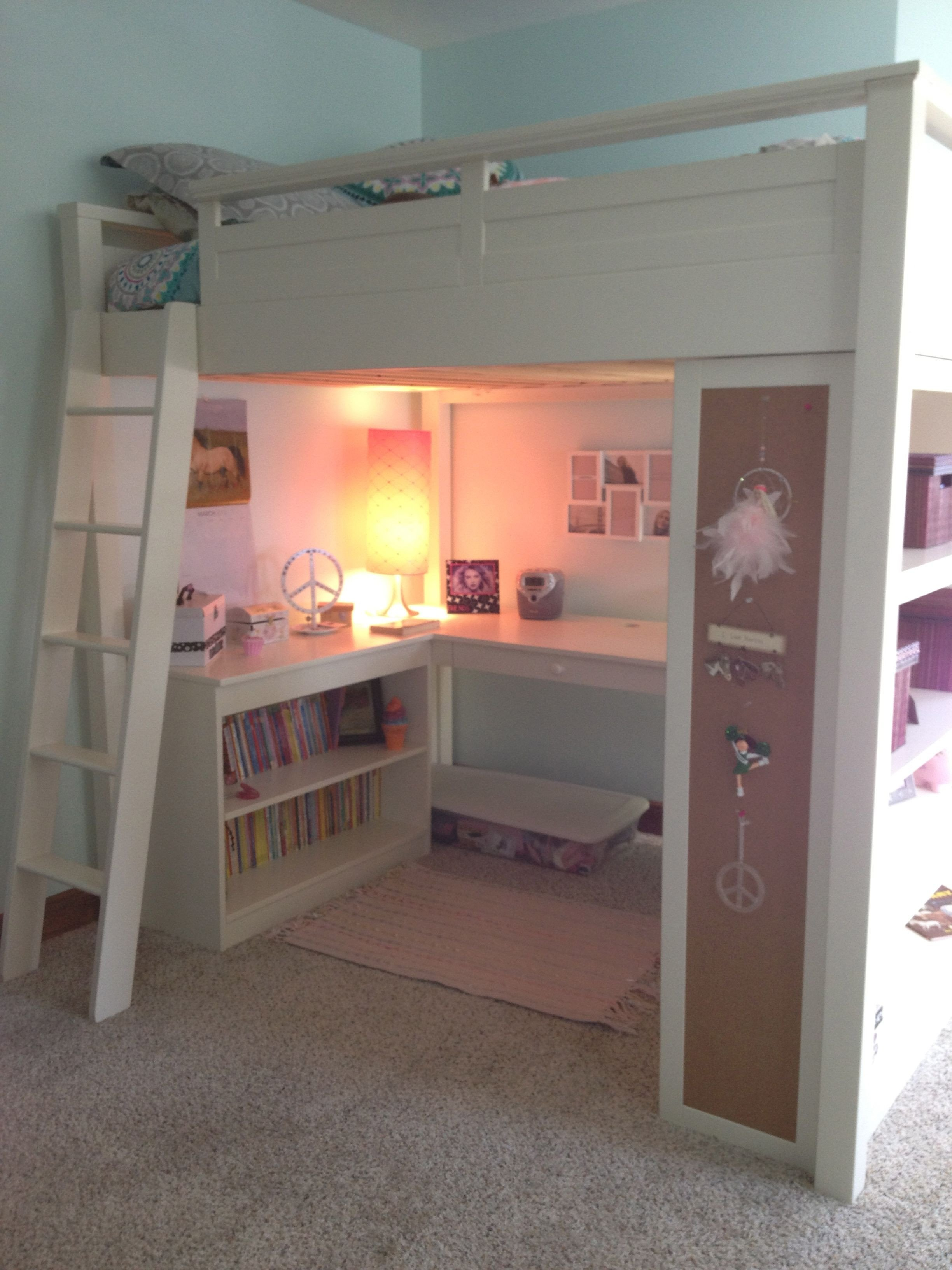 Space Saving Bedroom Ideas Inspirational Loft Bed Great Space Saver I Wonder if My Kids Would