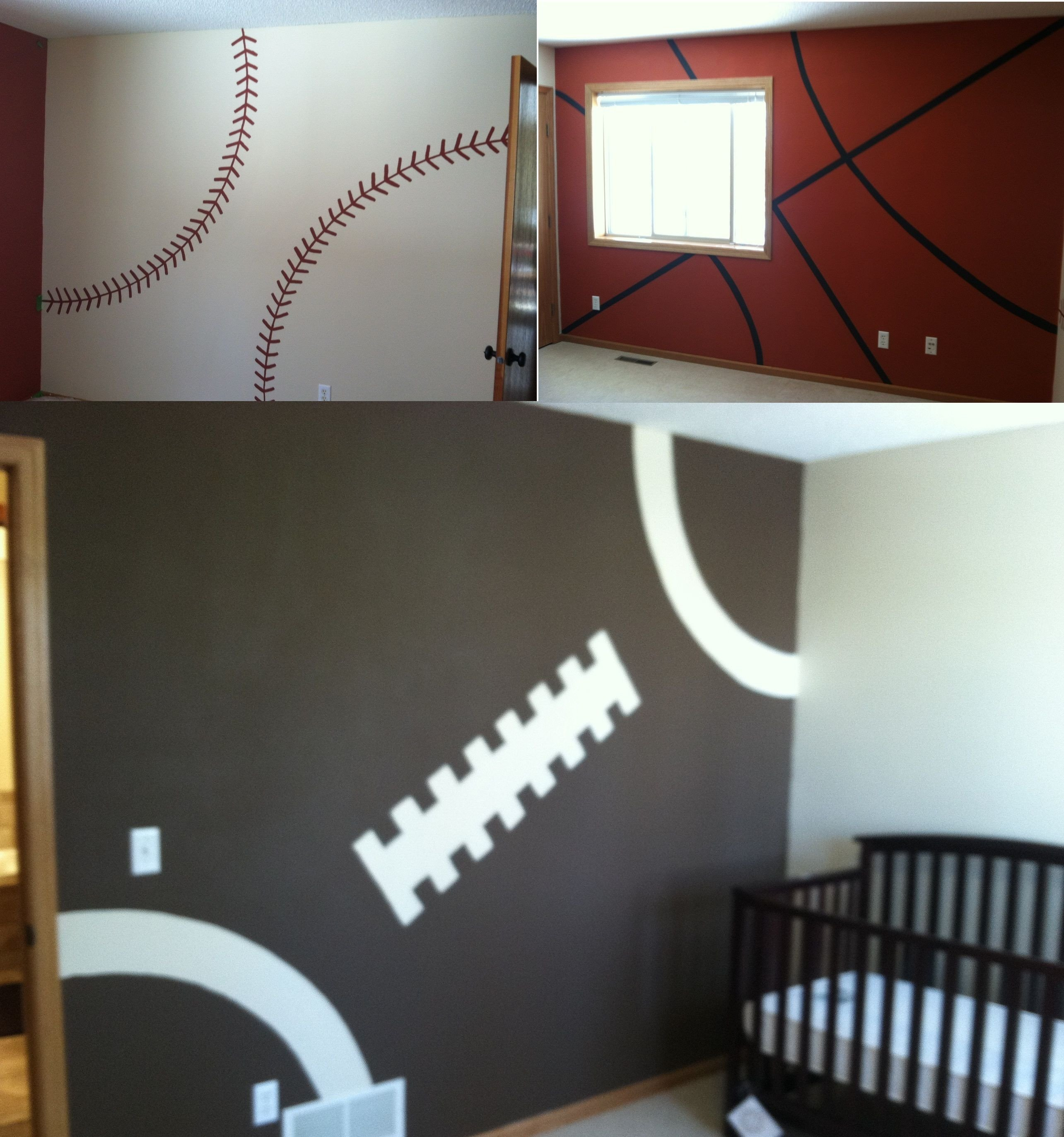 Sports Bedroom Decorating Ideas Beautiful if Caleb Ever Falls In Love with Sports Haha This is How