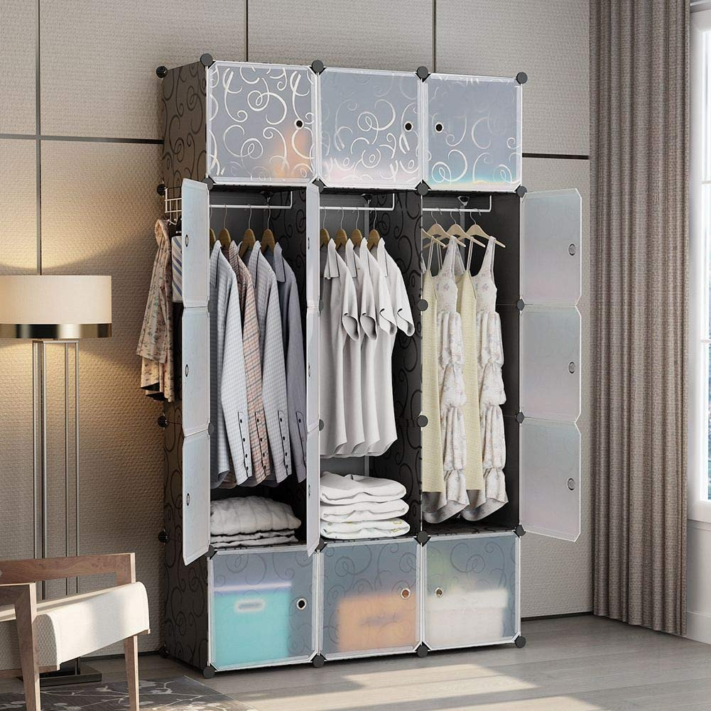 Storage for Small Bedroom without Closet Awesome Amazon George&danis Portable Wardrobe Plastic Modular