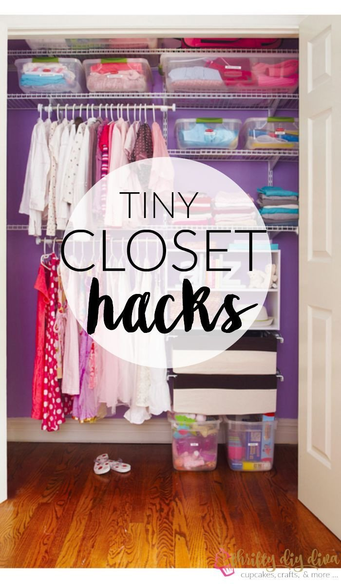 Storage for Small Bedroom without Closet Luxury Brilliant Lifehacks to organize Your Tiny Closet