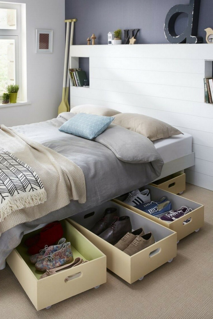 Storage Idea for Bedroom Inspirational 7 Small Bedroom Storage Ideas to Blow Your Mind