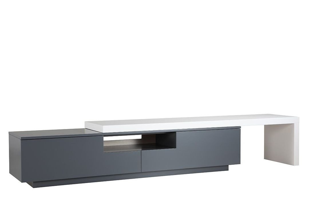 Table for Tv In Bedroom Fresh Kaluga Contemporary Tv Stand Gray In 2020