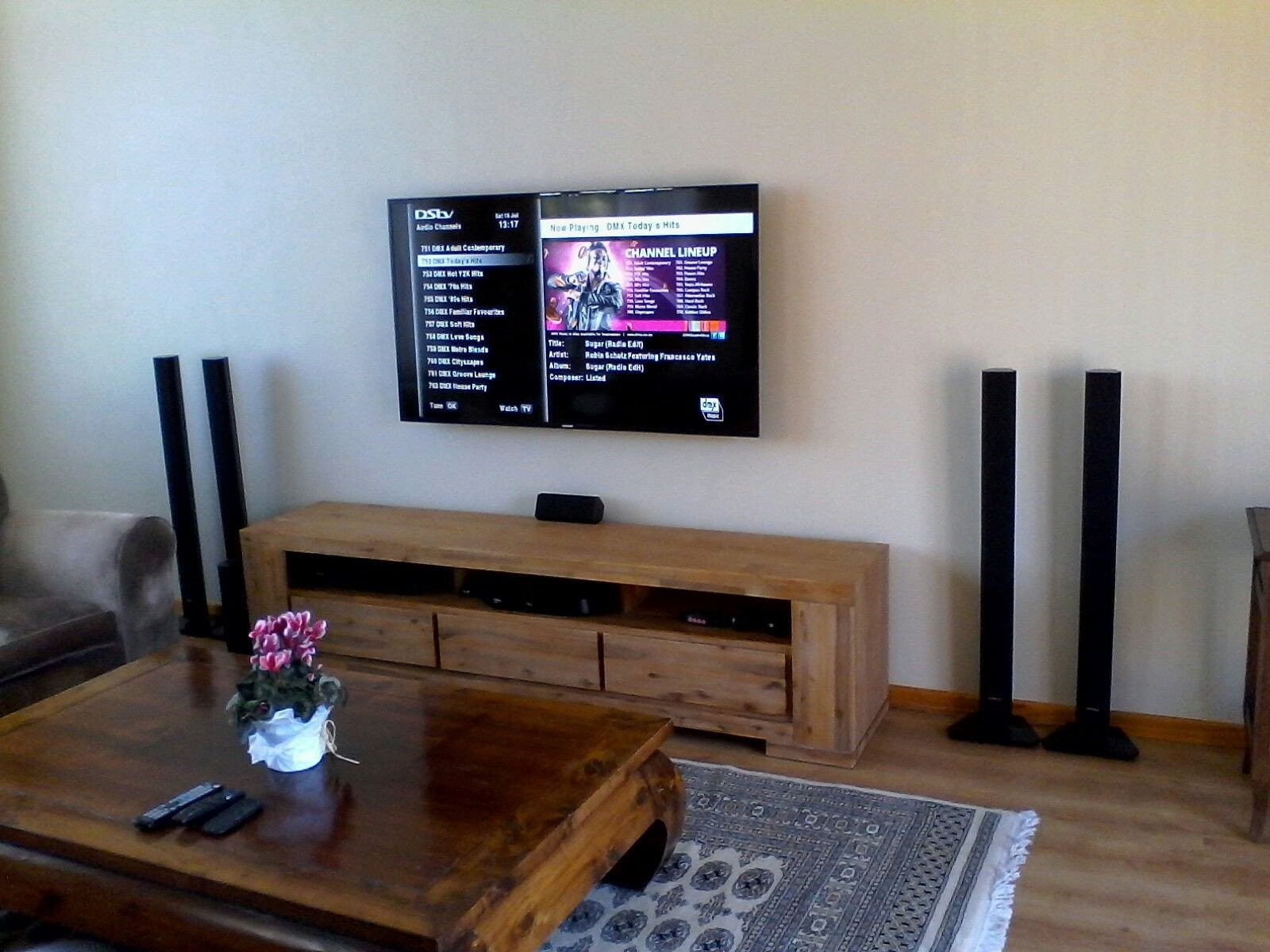 Table for Tv In Bedroom New Tv Wall Mounted Dstv Explora Decoder Installed Home