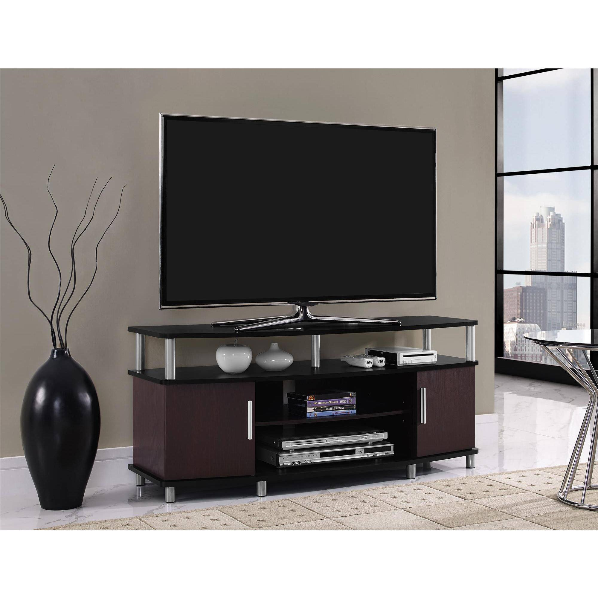 "Tall Tv Stands for Bedroom Beautiful Carson Tv Stand for Tvs Up to 50"" Multiple Finishes Walmart"