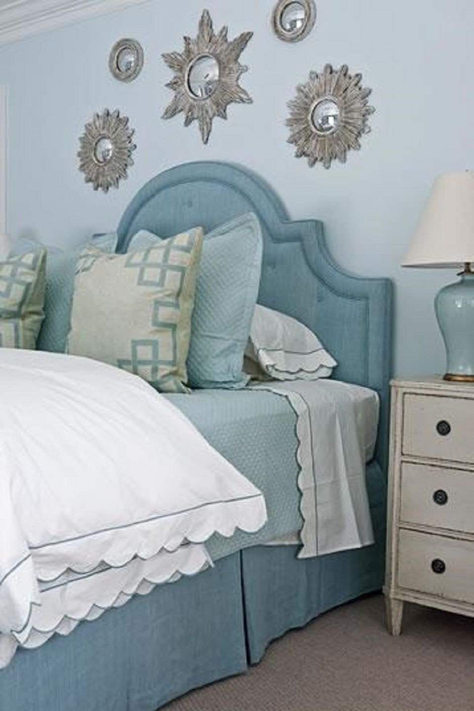 Teal and Black Bedroom Ideas Awesome 25 Stunning Blue Bedroom Ideas