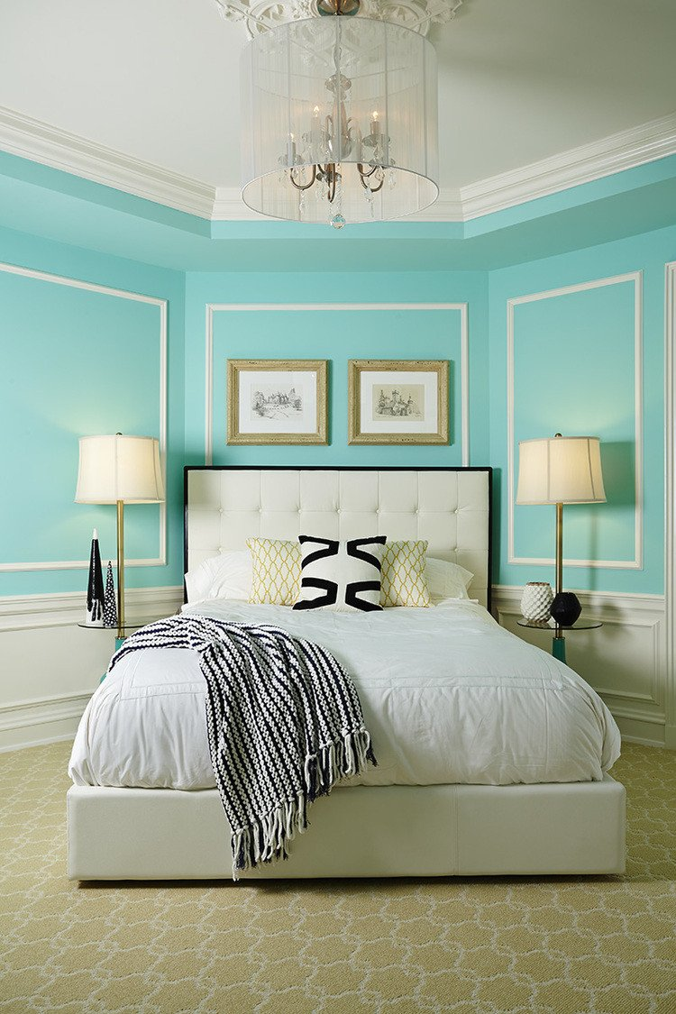 Teal and Black Bedroom Ideas Beautiful Discovering Tiffany Blue Paint In 20 Beautiful Ways