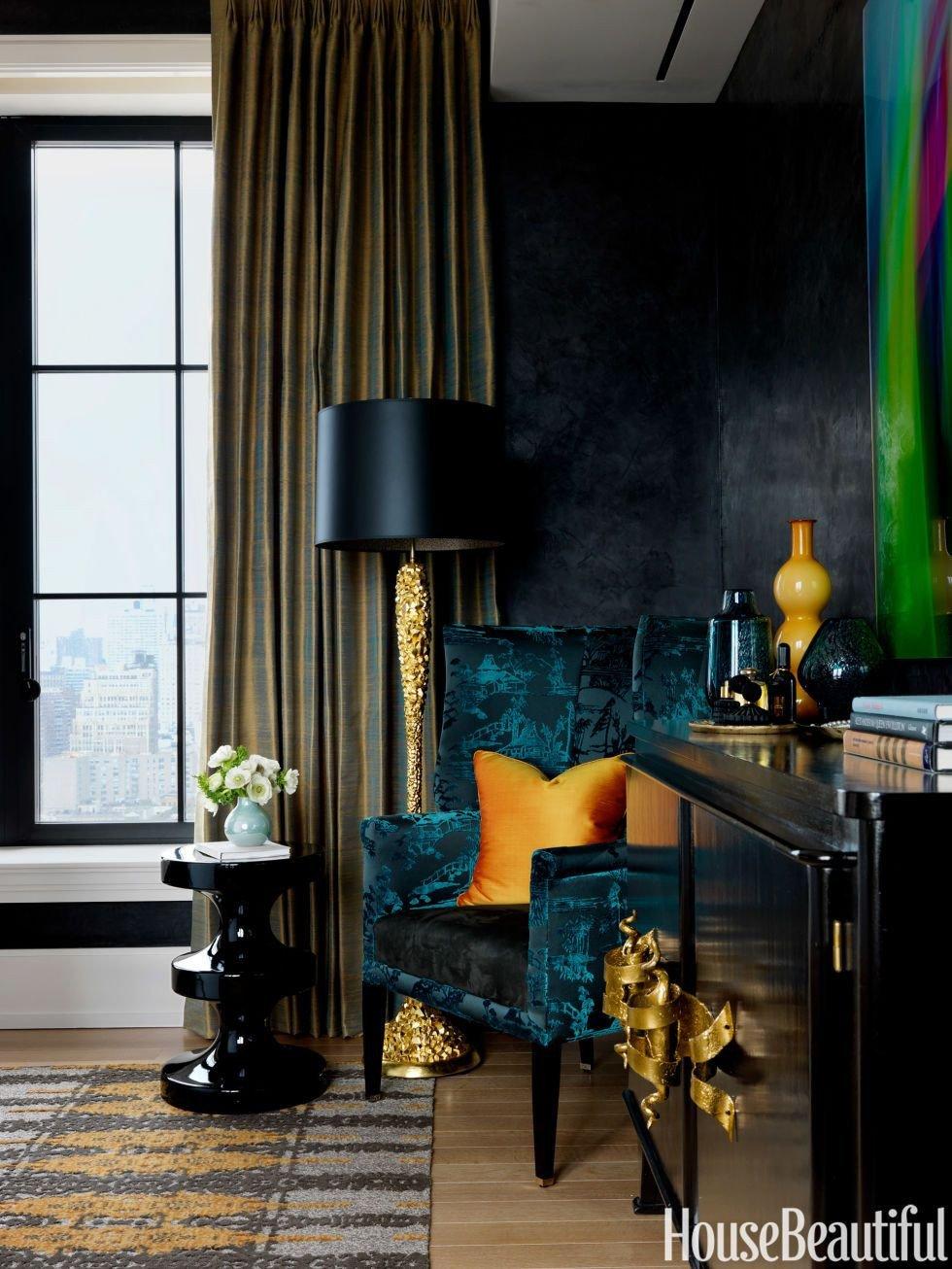 Teal and Black Bedroom Ideas Fresh Ceiling Inspiration Black Walls Teal Black Gold