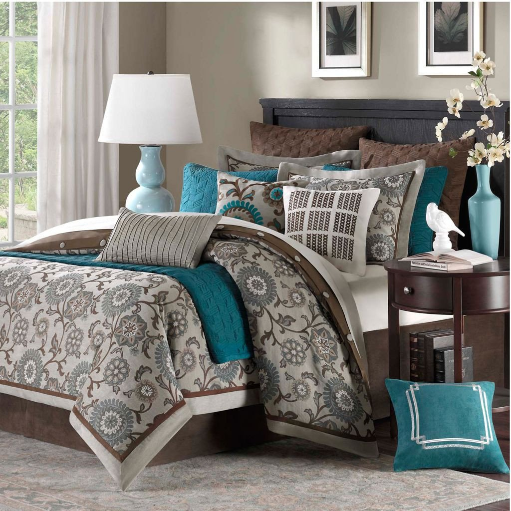 Teal and Gray Bedroom Awesome 22 Beautiful Bedroom Color Schemes