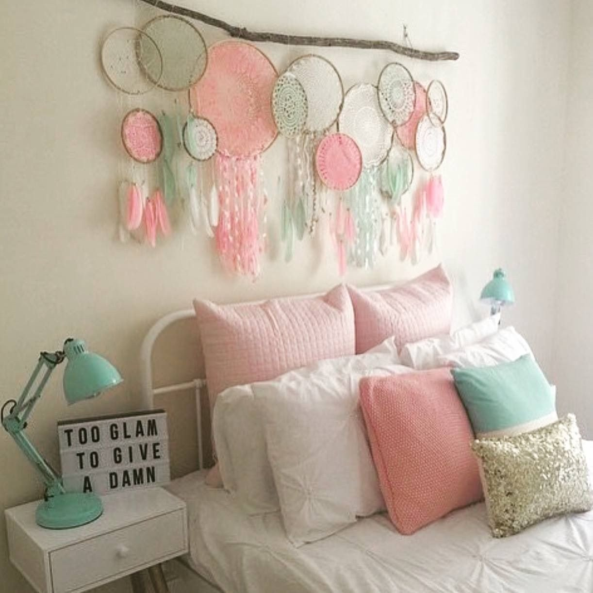 Teen Bedroom Wall Decor Awesome Dreamcatcher Bedhead