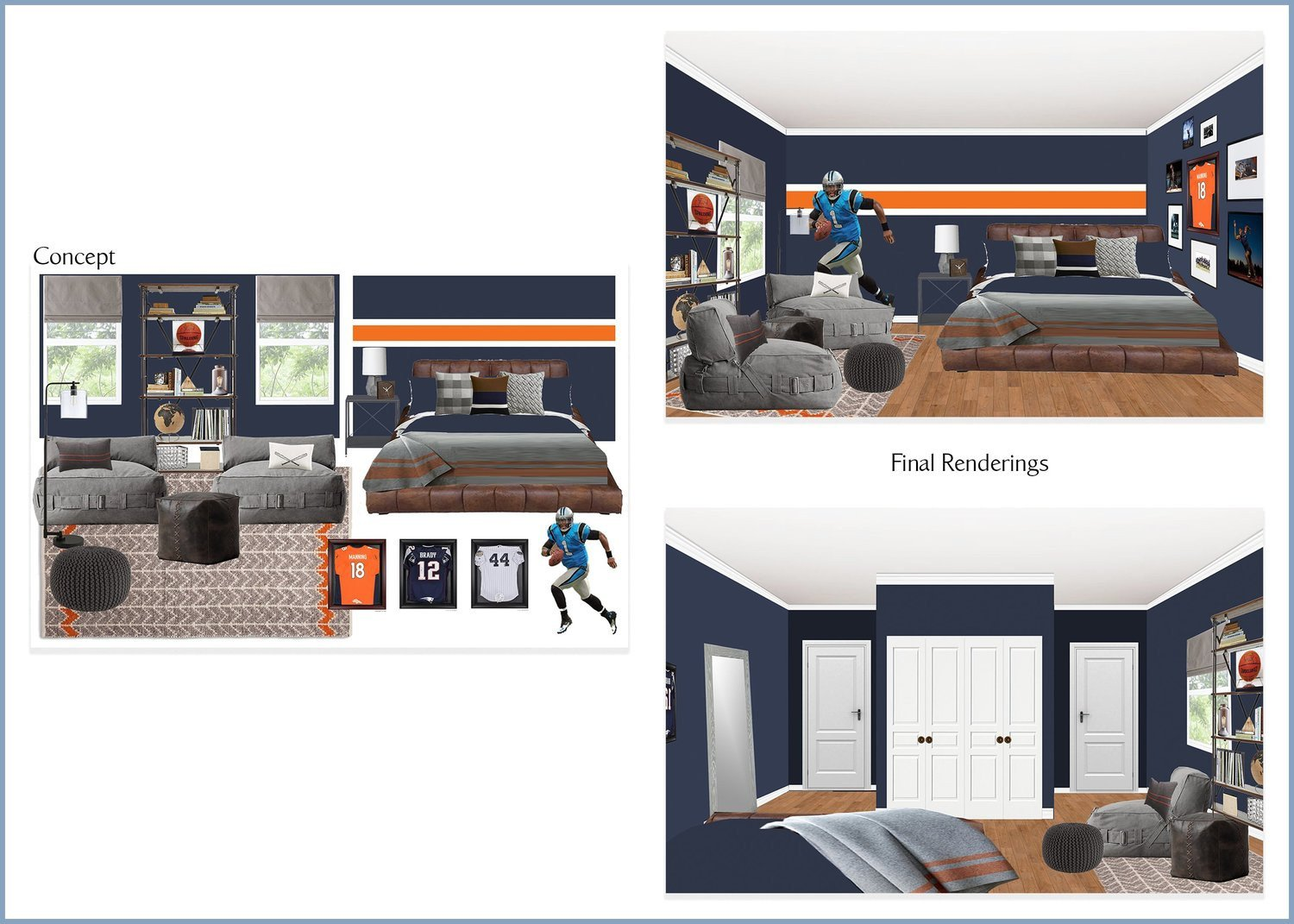 Teen Boy Bedroom Ideas New E Design Portfolio — Lauren Haskell Designs