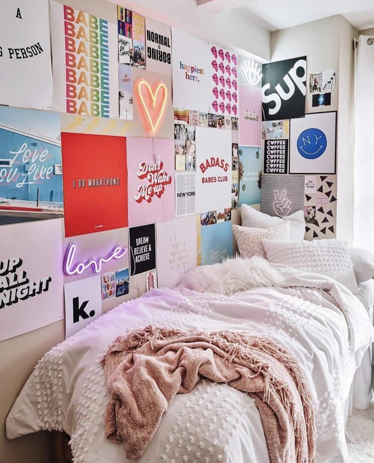 Teen Girl Bedroom Decor Luxury Vsco Room Ideas How to Create A Cute Dorm Room