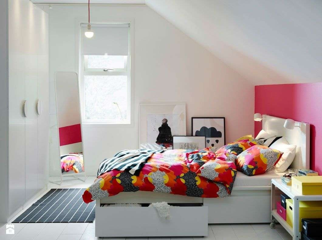 Teenage Girl Bedroom Decor Awesome Ikea Bedroom Ideas for Small Rooms Awesome Sypialnia Zdjcie