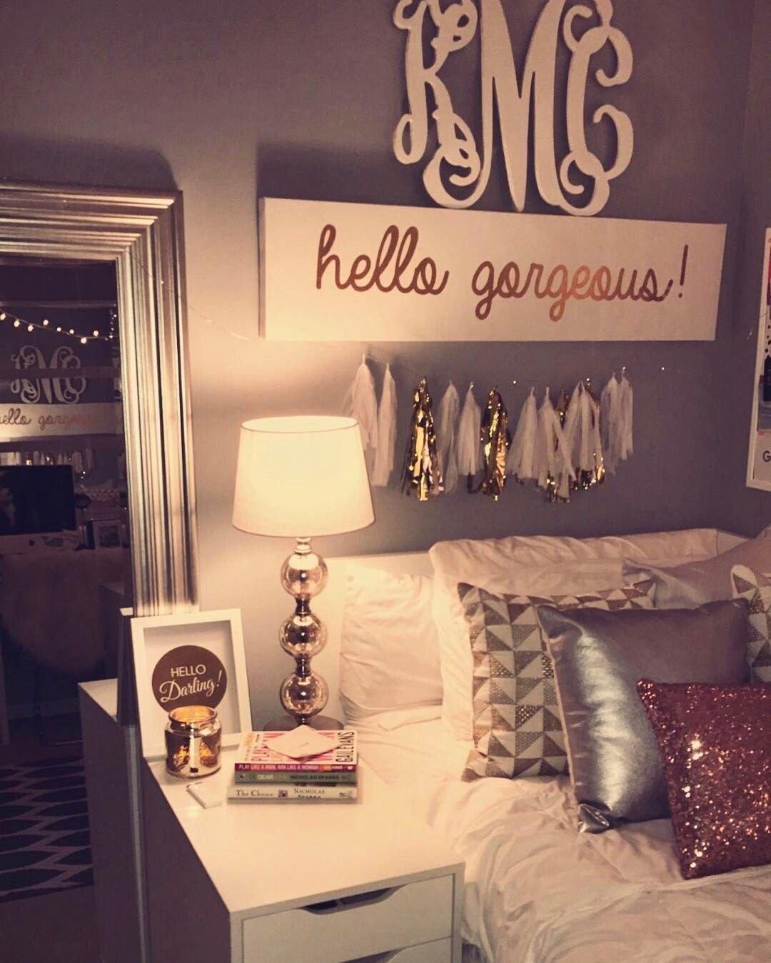 Teenage Girl Bedroom Decor Elegant Pin Od Použvateľa Gracie Shaver Na Nástenke Room Ideas