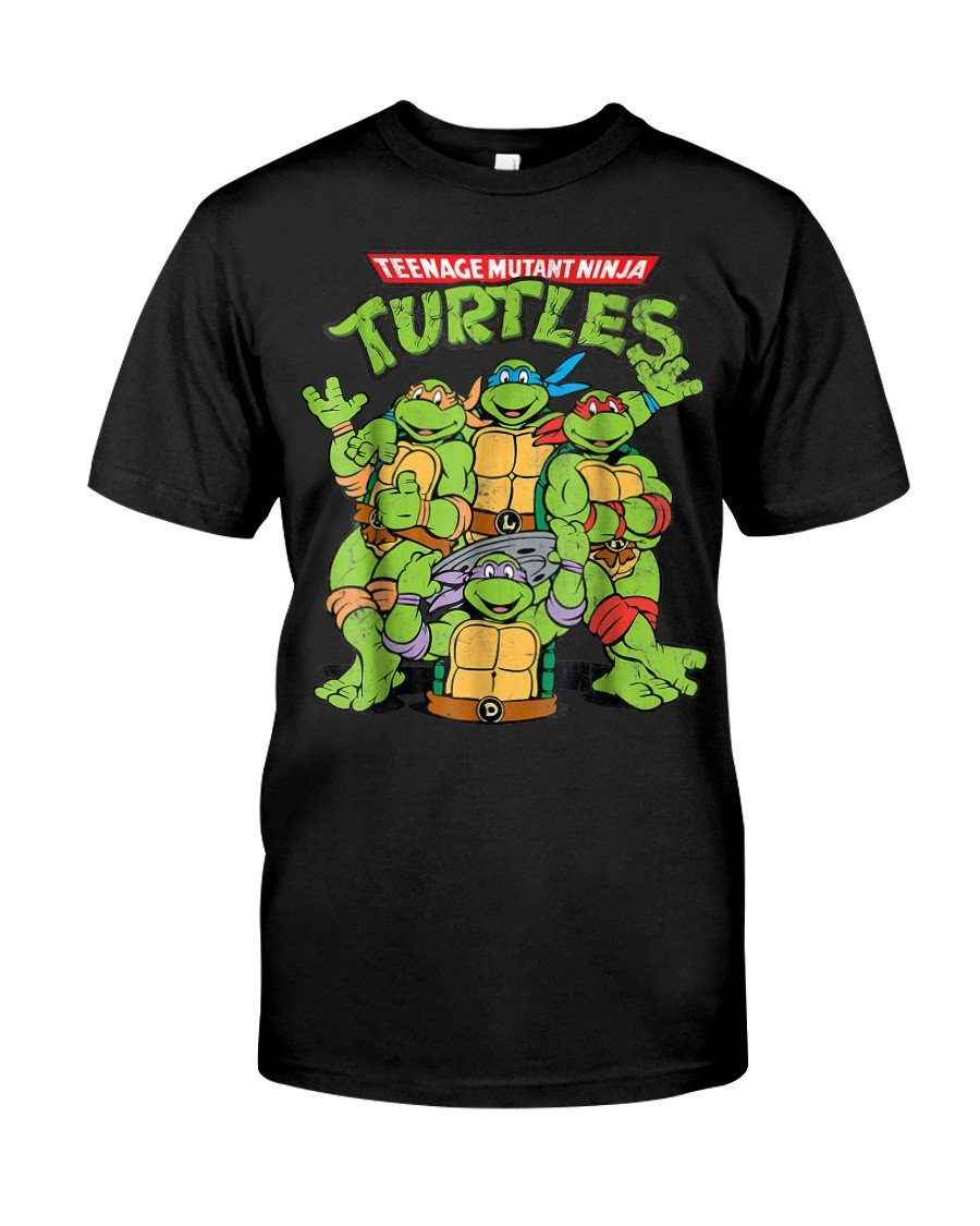 Teenage Mutant Ninja Turtles Bedroom Elegant Teenage Mutant Ninja Turtles Classic Retro Logo