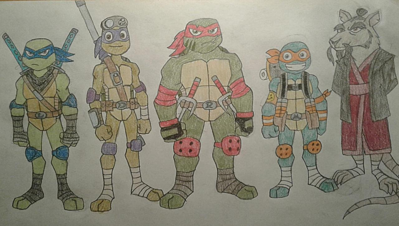 Teenage Mutant Ninja Turtles Bedroom Lovely Tmnt Group Hamato Clan by Jebens1 On Deviantart