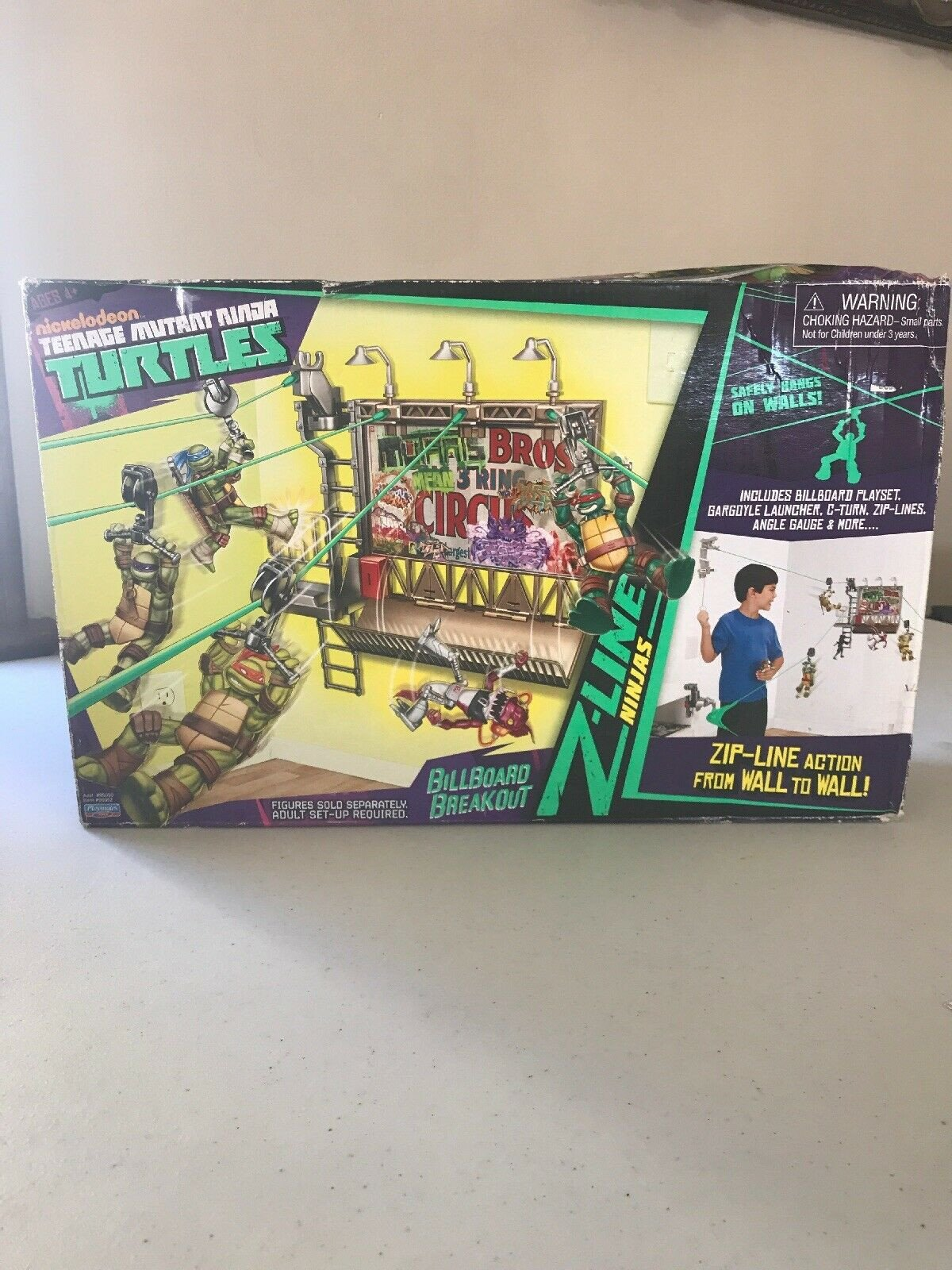 Teenage Mutant Ninja Turtles Bedroom Set Lovely Teenage Mutant Ninja Turtles Z Line Billboard Breakout Playset