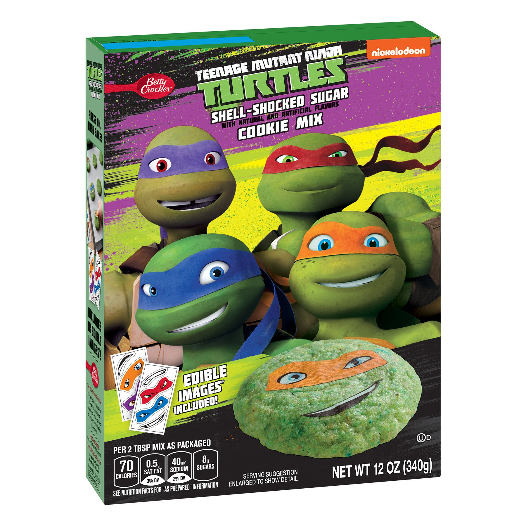 Teenage Mutant Ninja Turtles Bedroom Set Luxury Betty Crocker Teenage Mutant Ninja Turtle Shell Shocked Sugar Cookie Mix Walmart