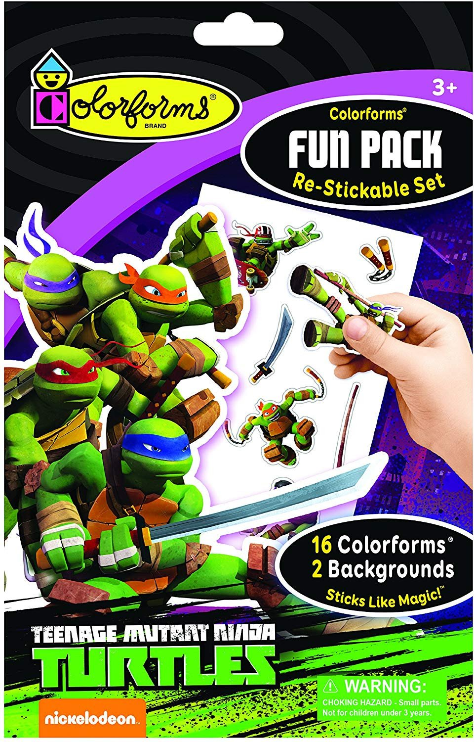 Teenage Mutant Ninja Turtles Bedroom Set Luxury Colorforms Fun Pack Teenage Mutant Ninja Turtles