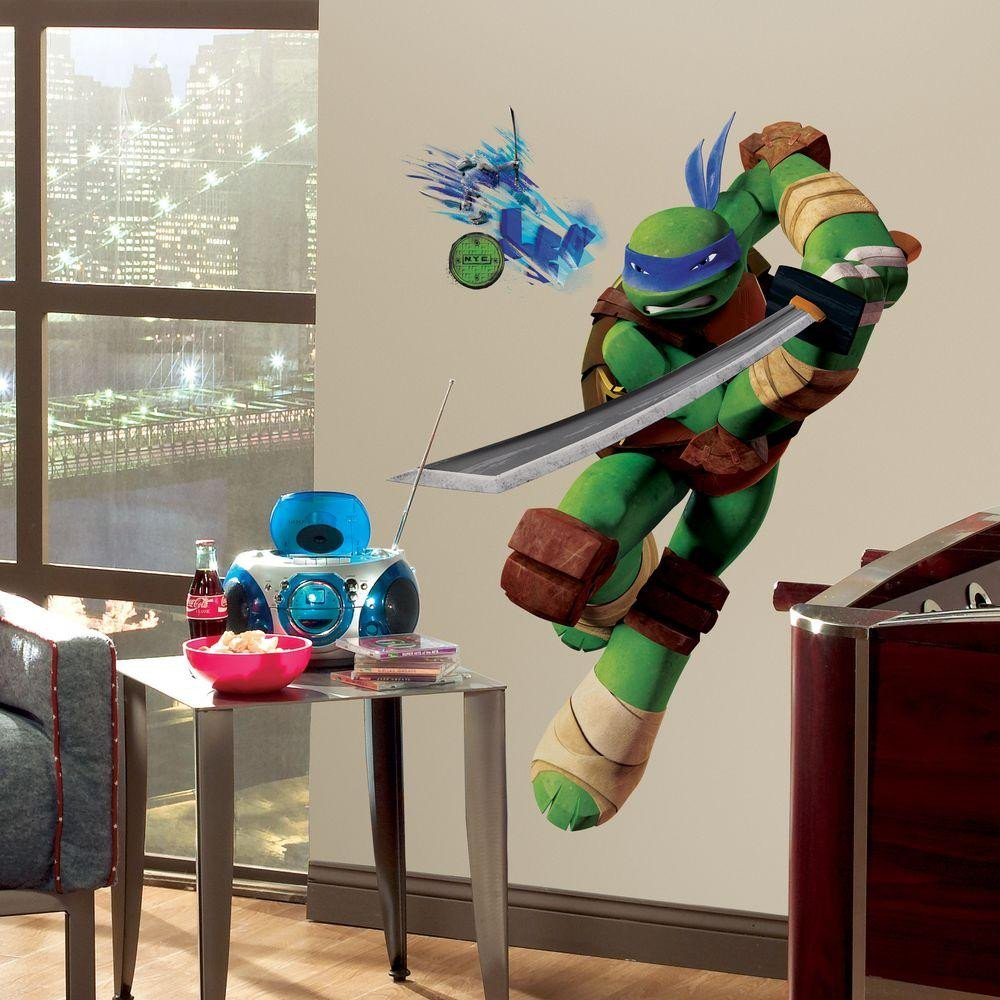 Teenage Mutant Ninja Turtles Bedroom Set Unique Roommates 27 5 In X 36 8 In Teenage Mutant Ninja Turtles
