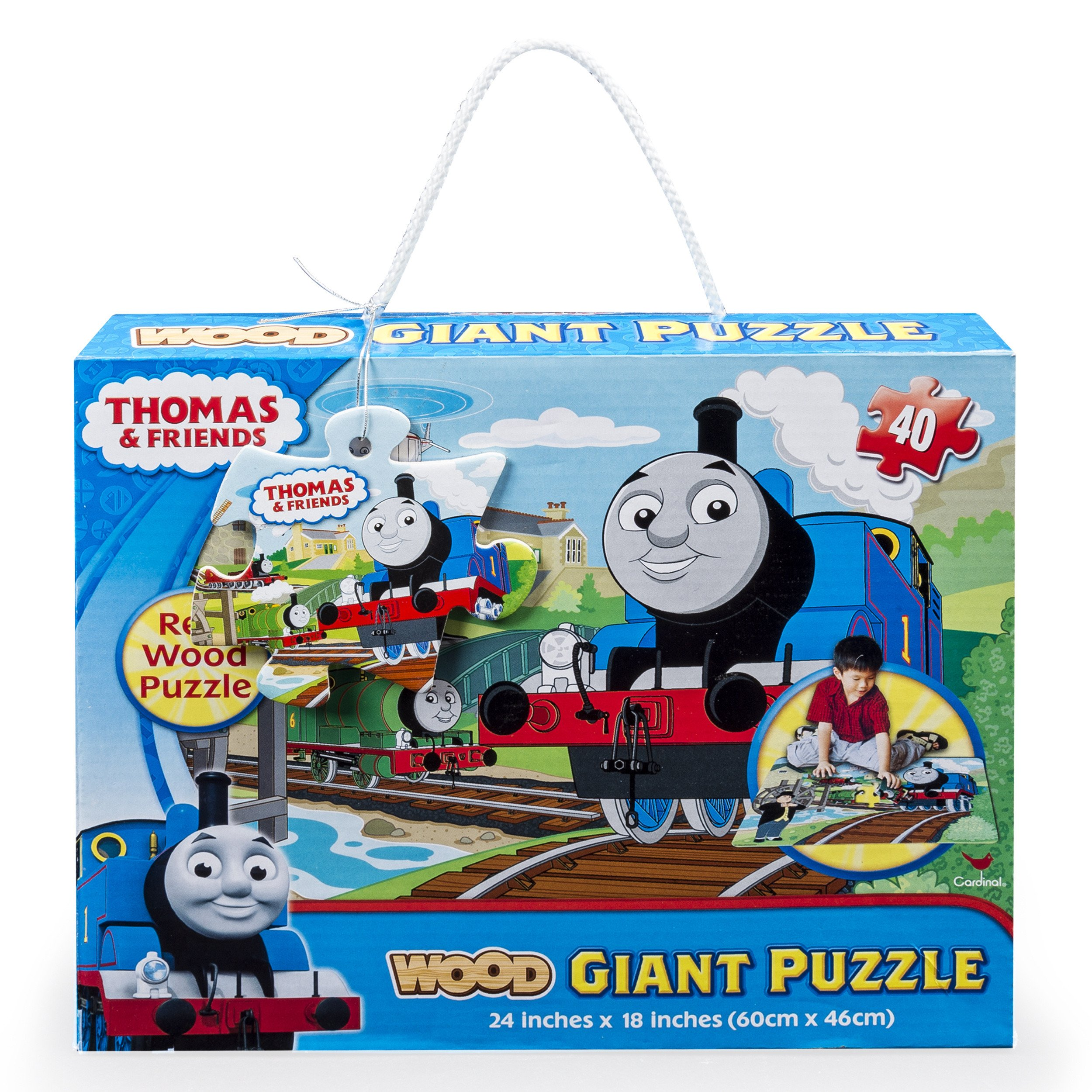 Thomas the Train Bedroom Decor Beautiful Thomas and Friends Giant 40 Piece Wood Floor Puzzle Walmart