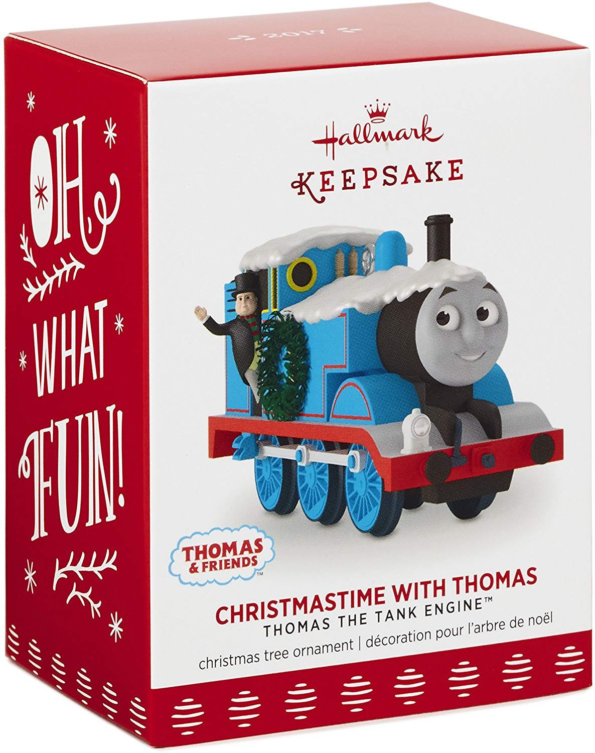 Thomas the Train Bedroom Decor Fresh Hallmark Keepsake 2017 Christmastime with Thomas the Tank Engine Christmas ornament