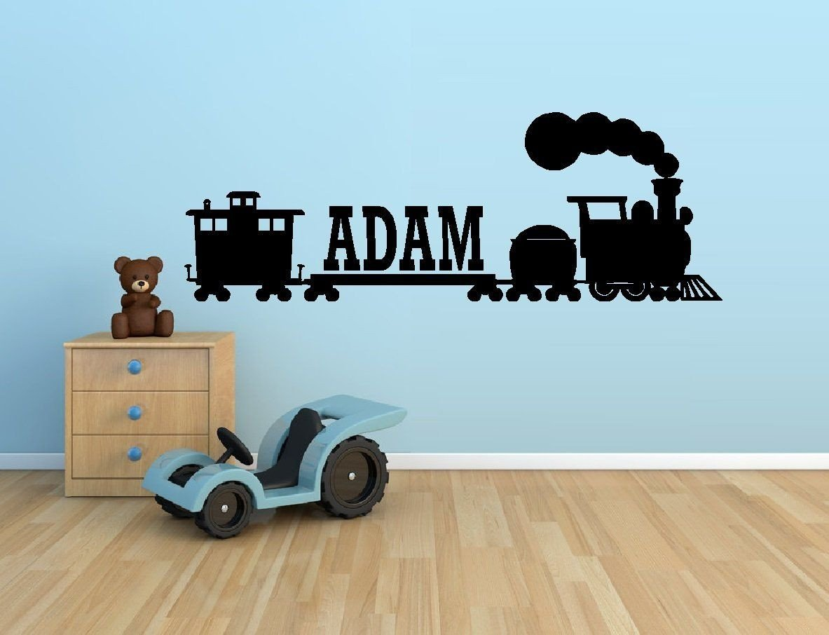 "Thomas the Train Bedroom Decor Fresh Thomas the Train Custom Name Wall Decal 10"" X 28 5"