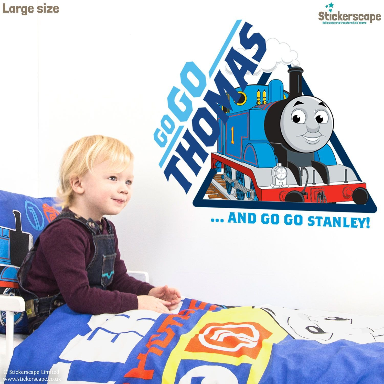 Thomas the Train Bedroom Decor Inspirational Stickerscape S Official Thomas the Tank Engine Wall Sticker