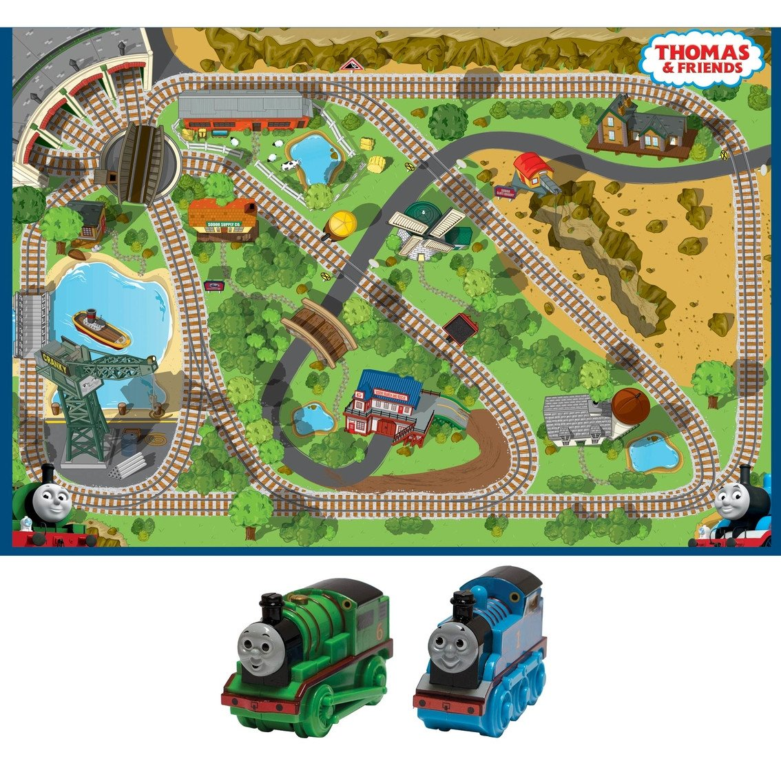 Thomas the Train Bedroom Decor Lovely Fisher Price Thomas & Friends Thomas View Interactive Game