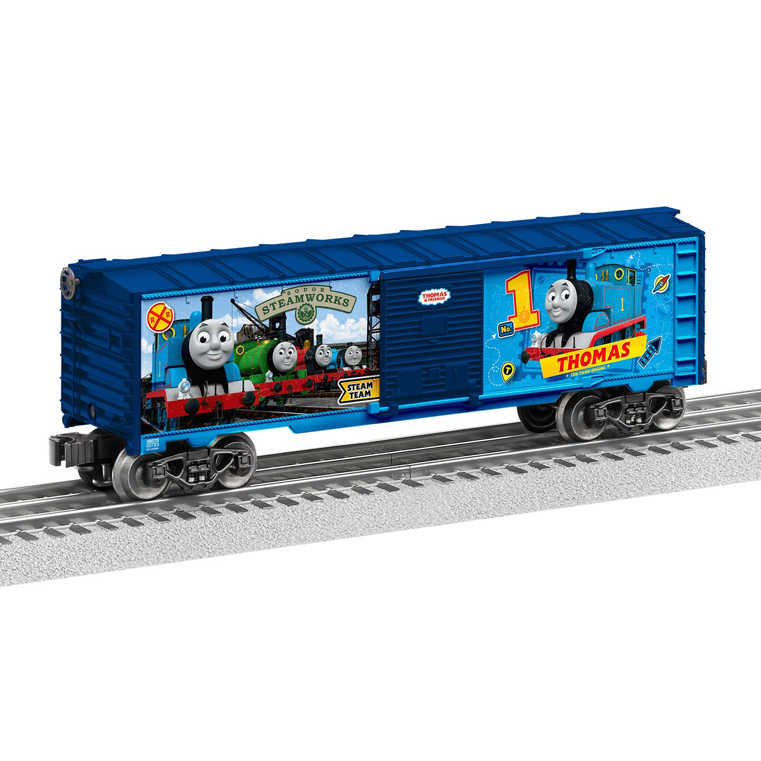 Thomas the Train Bedroom Decor Luxury Lionel Thomas & Friends Thomas Engine O Gauge Model Train Boxcar Walmart