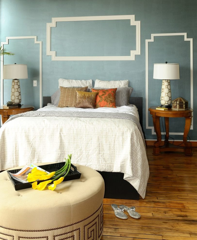 Tiffany Blue Bedroom Ideas Inspirational Add Molding to Transitional Hall Decorating Ideas with