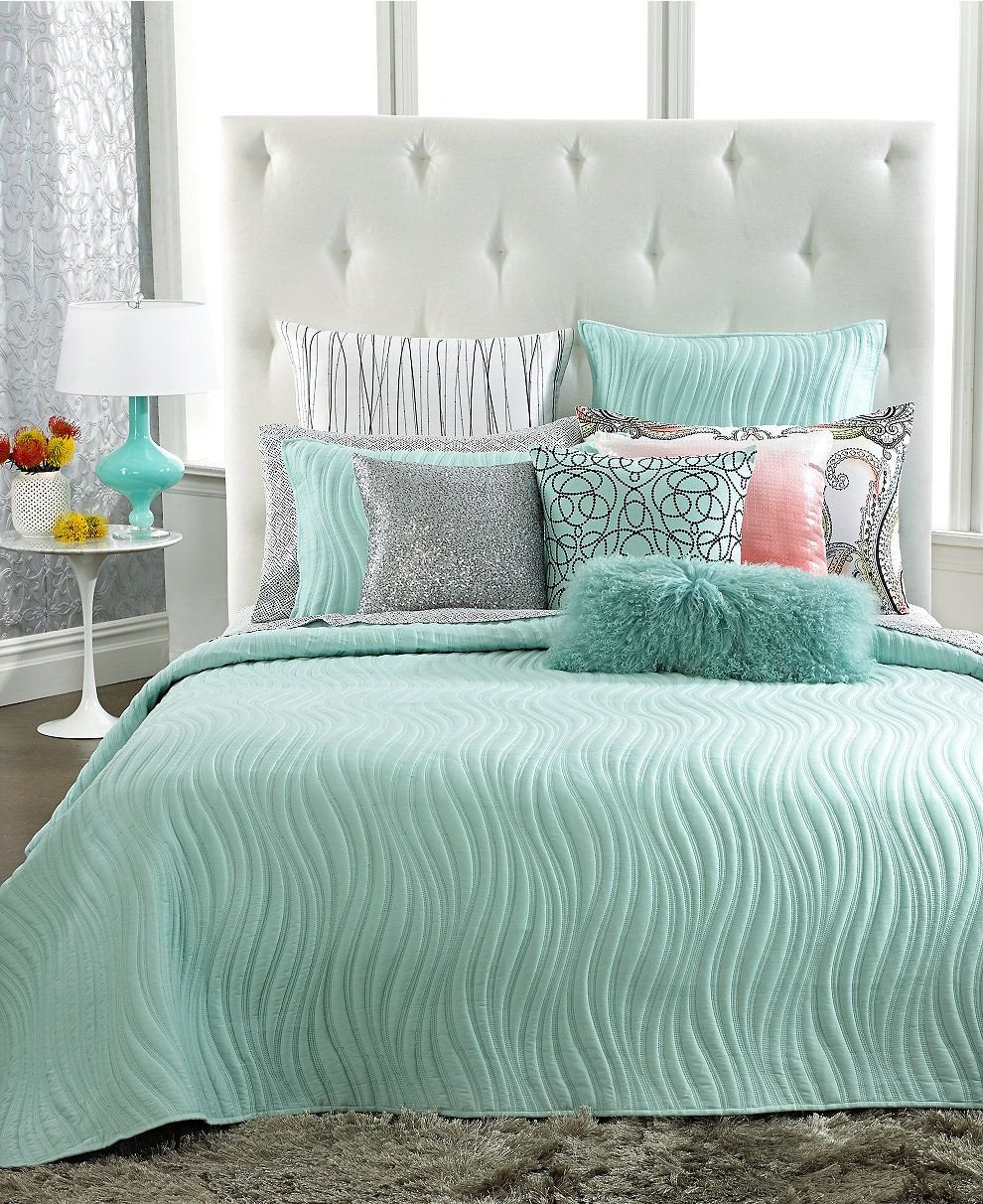 Tiffany Blue Bedroom Ideas Luxury Inc International Concepts Marni Coverlet Collection