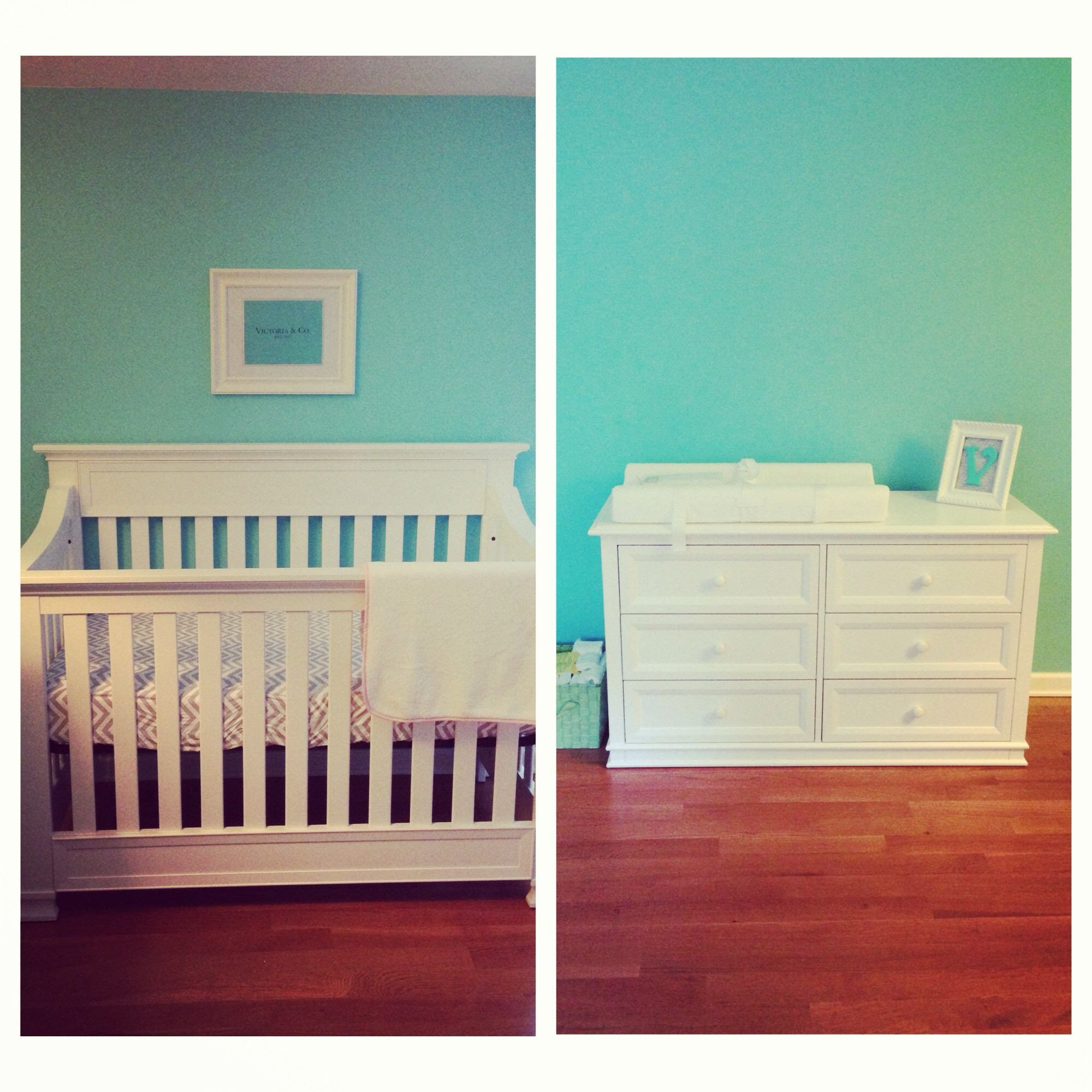 Tiffany Blue Bedroom Ideas Unique Baby S Tiffany Blue Nursery 3