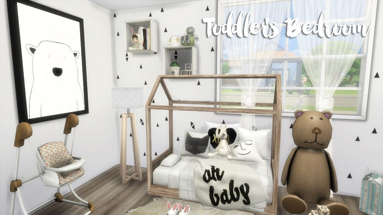Toddler Bedroom Furniture Set Inspirational the Sims 4 toddler S Room Build