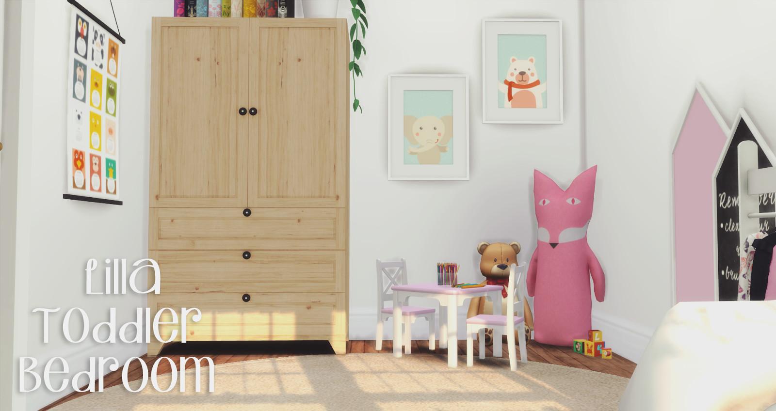 Toddler Bedroom Furniture Set Unique Lilla toddler Bedroom New Set