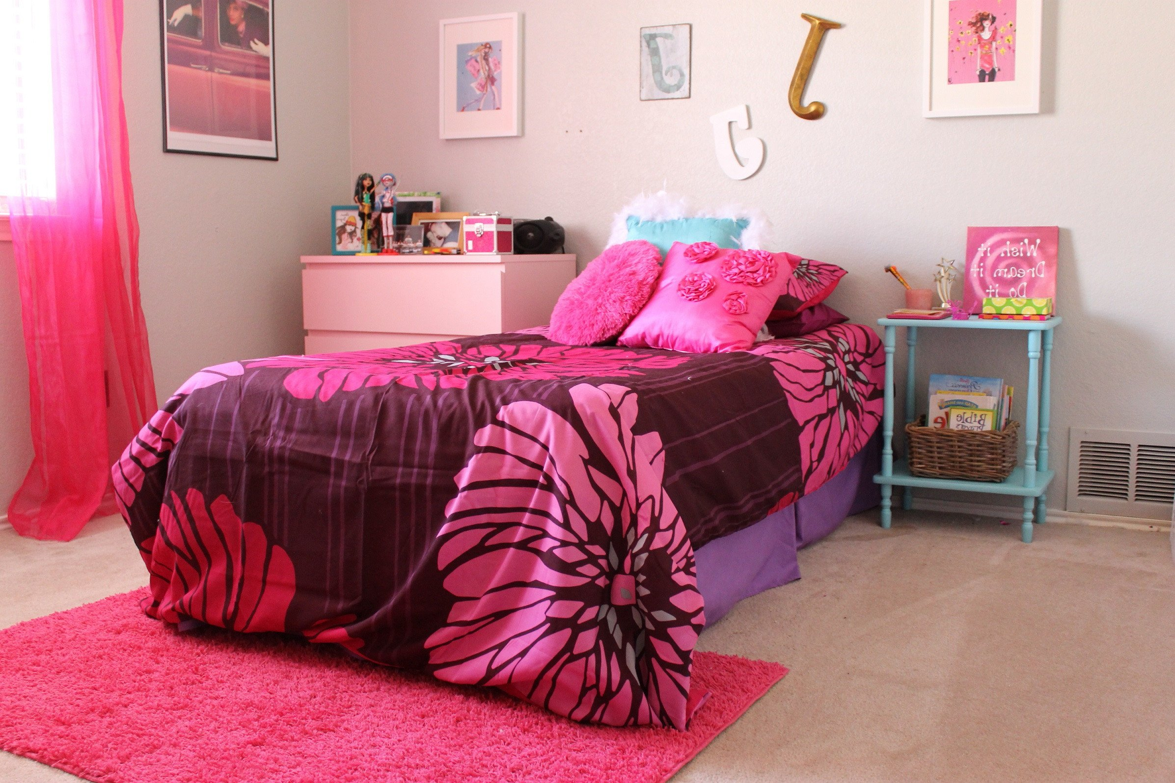 Toddler Girl Bedroom Decor Beautiful Wallpaper Teen Room 29 Images