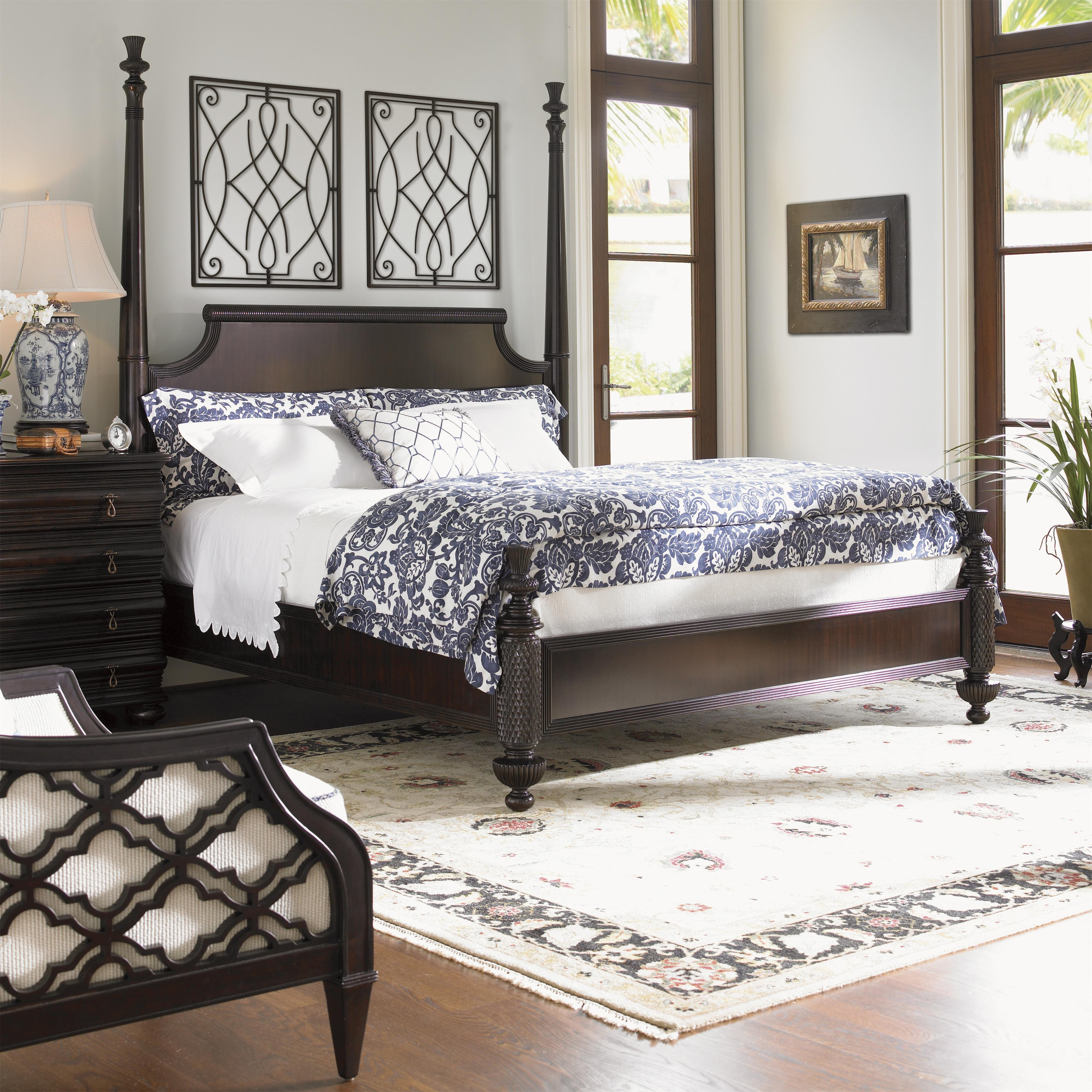 Tommy Bahama Bedroom Set New Royal Kahala Leather by tommy Bahama Home Hudson S