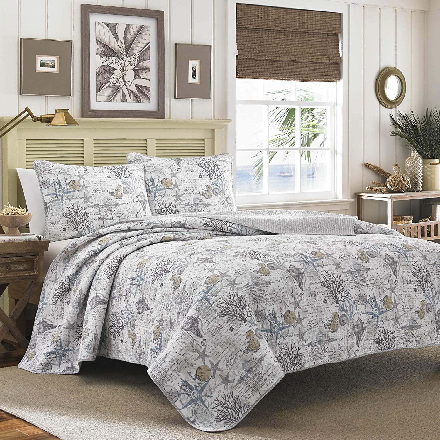 Tommy Bahama Bedroom Set Unique tommy Bahama Quilt Set Full Queen Beach Bliss